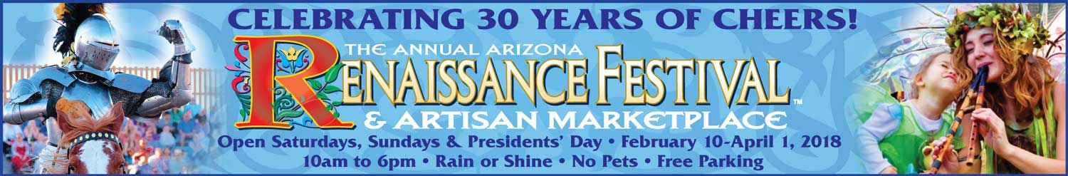 Arizona Renaissance Festival is coming soon!