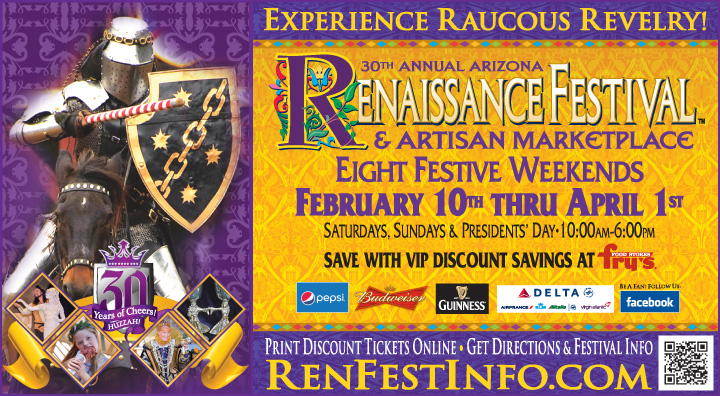 Arizona Renaissance Festival 2020.30th Annual 2018 Arizona Renaissance Festival And Faire