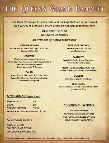 Queen's Grand Banquet Snapshot